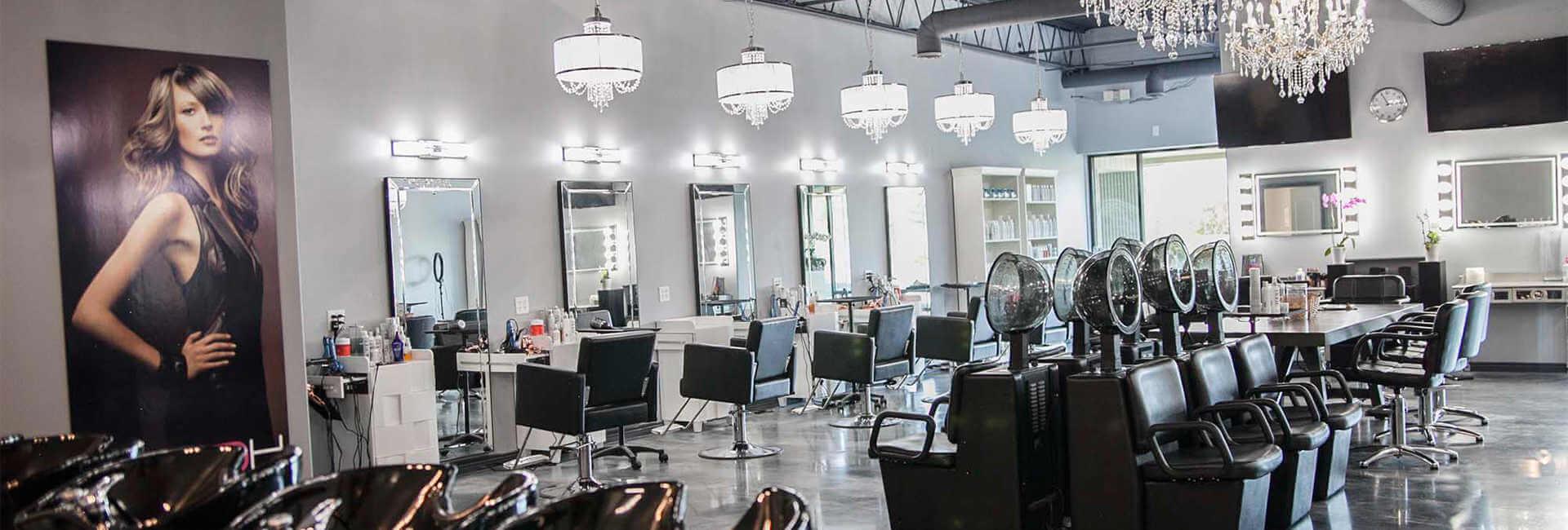 Image of the interior of HQ Salon