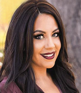 Melissa, top hair stylist at HQ Salon